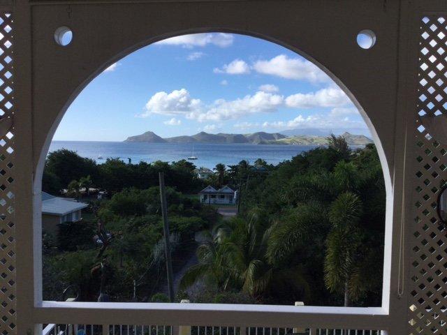 Vista de St. Kitts.