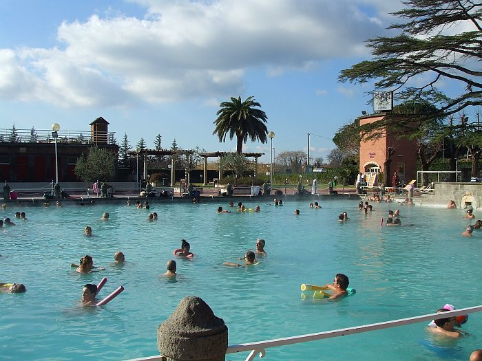Thermal pools at Viterbo - an indulgent day out