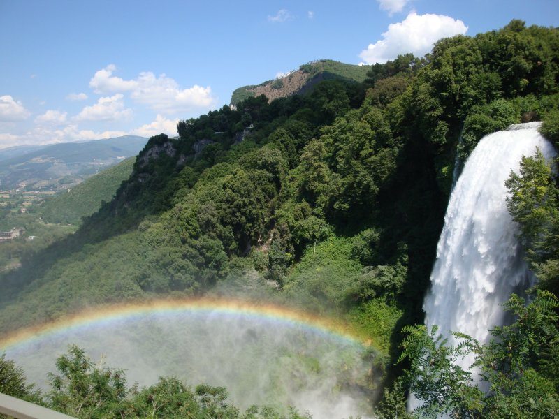 The Marmore waterfalls - highest in Europe