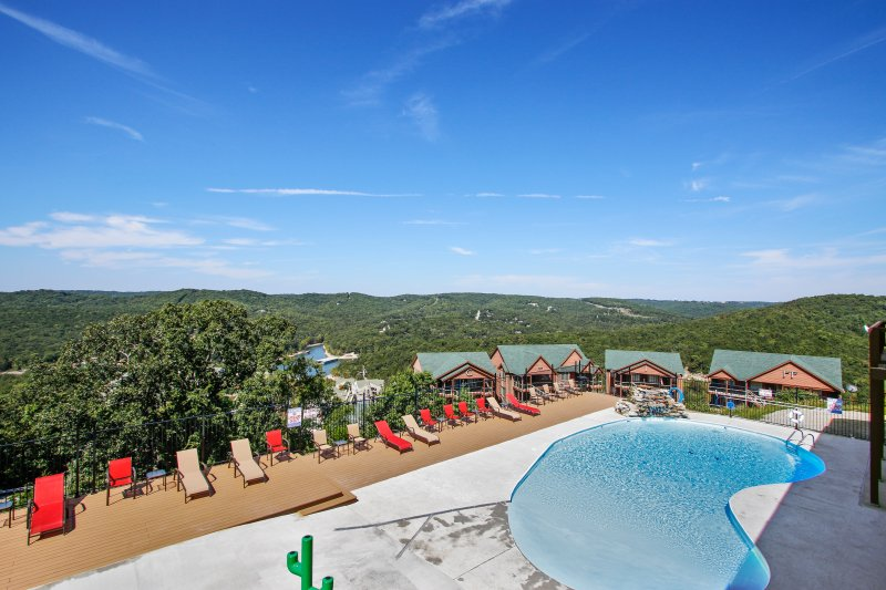 View from Owners Lounge - Zero Entry Outdoor Pool - Open Season May - end of September