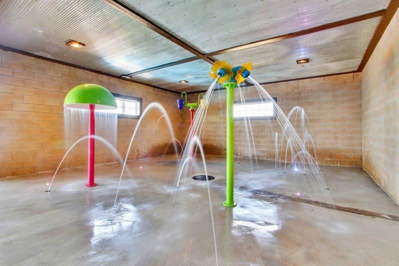 Kids Indoor Heated Splash Pad -  Open Year Round