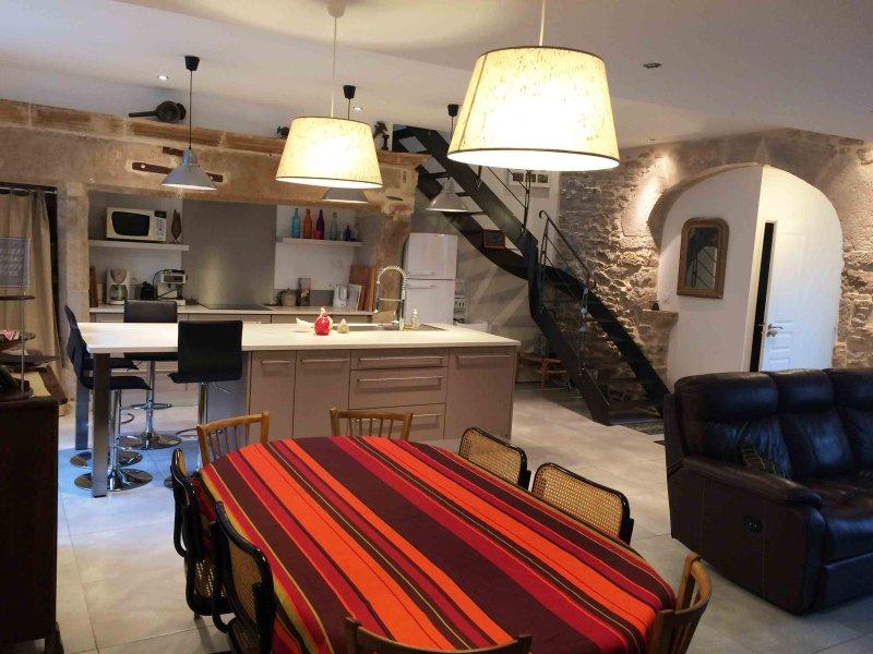 Gite La Forge - Maison de location de vacances, vacation rental in Nauviale