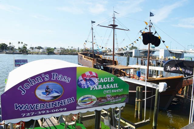 Water excursions at John's Pass Village and Boardwalk