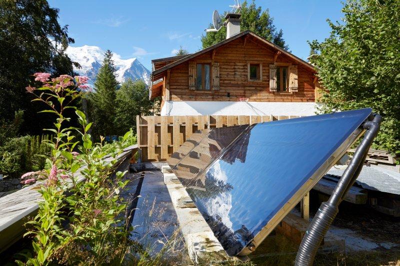 Marmotte Montanha Eco Lodge - painéis térmicos - Chamonix