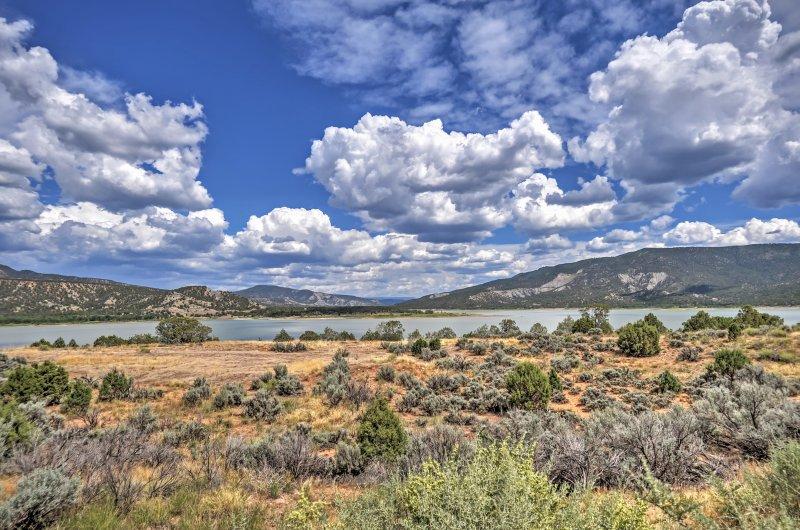 Visitez cette cabine Location de vacances Pagosa Springs pour des souvenirs qui dureront pour toujours!
