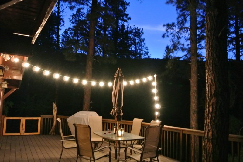 Relax and watch the sunset after a day of hiking or sightseeing in Prescott.