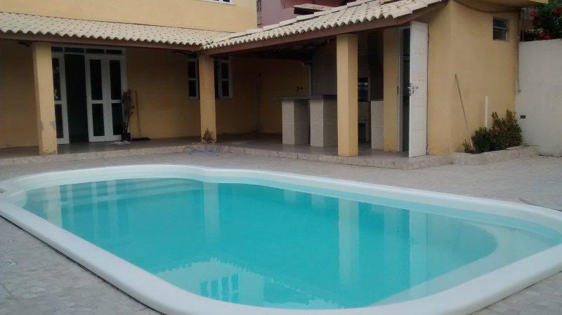 Casa de Praia 4/4 em Arembepe, Mobiliada, Piscina, vacation rental in Jaua