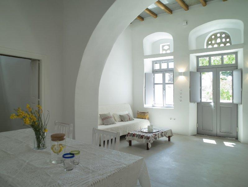 Tutti Blu Tinos Living Space, holiday rental in Tinos