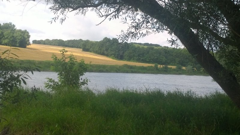 The river Cher which is situated 200 meters from the gite
