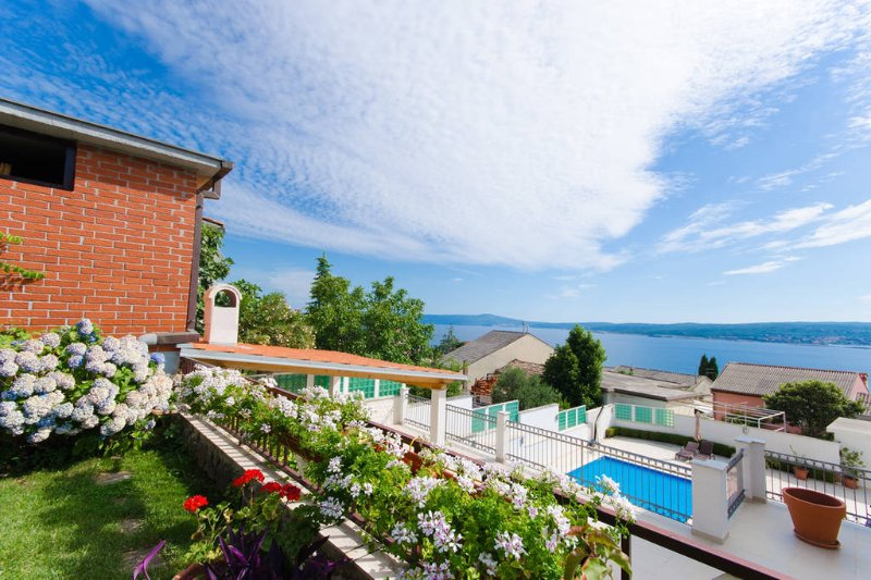 Apartman sa pogledom na more, holiday rental in Crikvenica