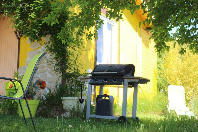 BBQ nel tuo giardino