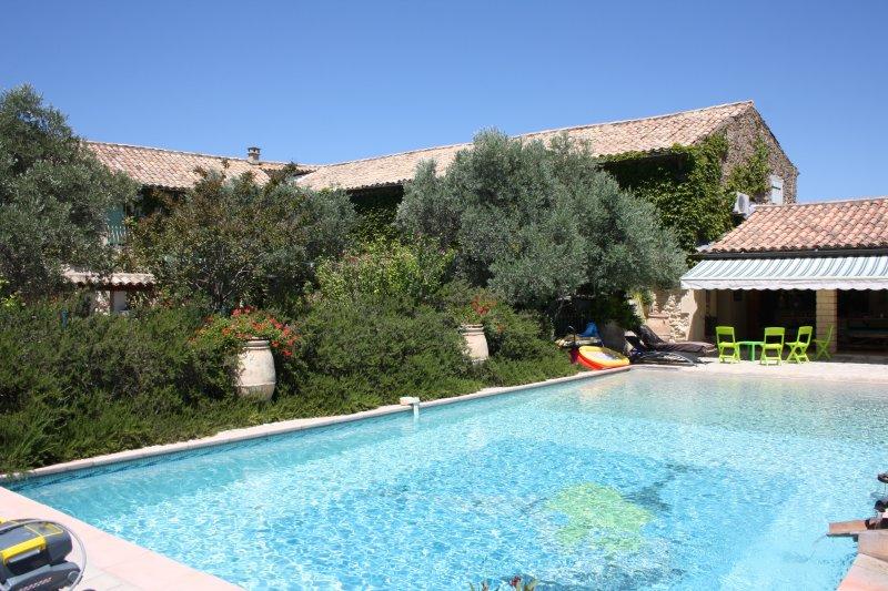 Mas des Oliviers - Mas en Provence, location de vacances à Uchaux
