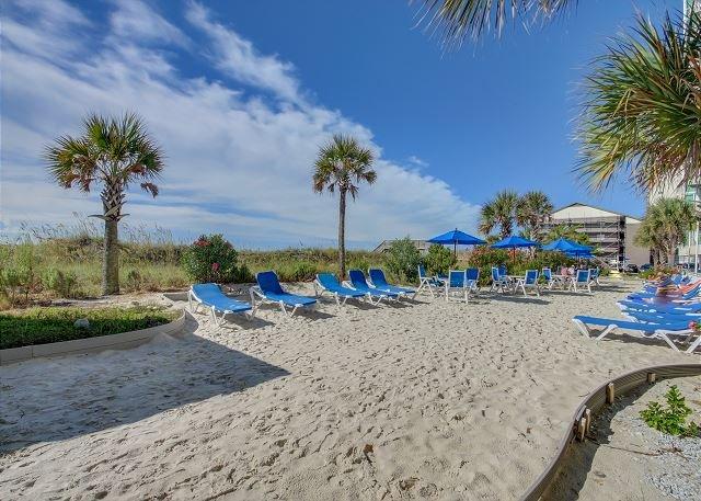 Avista's Private Beach Area