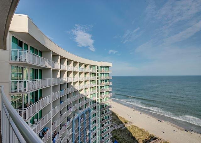 Balcón frente al mar