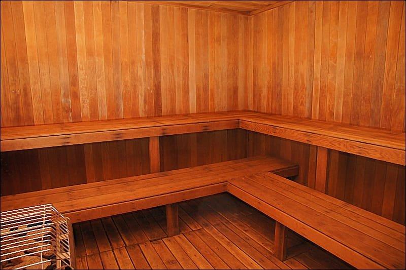 Amenity Center - Large Co-Ed Sauna