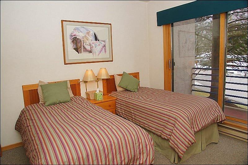 Slaapkamer 4 - 2 tweelingen