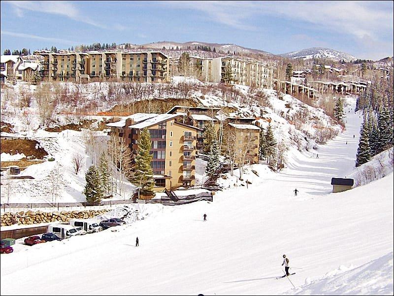 True Ski In Ski Out Location on Right O Way & North Headwall