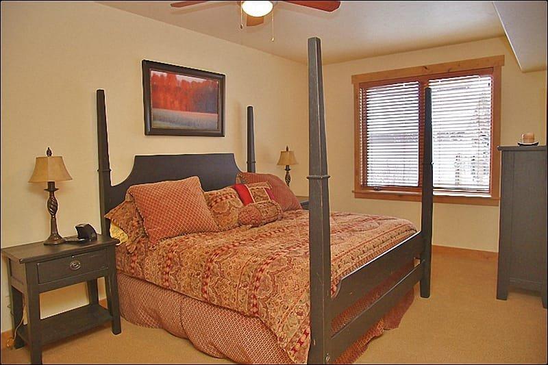 Master Bedroom # 1 - King, HDTV, Private Bathroom