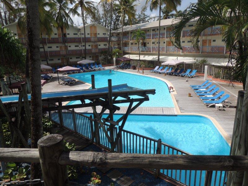 Studio 4p avec piscine au Carayou Martinique, location de vacances à Trois-Îlets