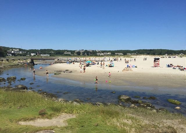 Good Harbor Beach is just a short stroll from the house.