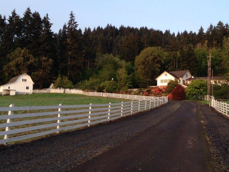 100% Eclipse Path, Beautiful Guest House, Private Trails, Close toOregon State – semesterbostad i Philomath