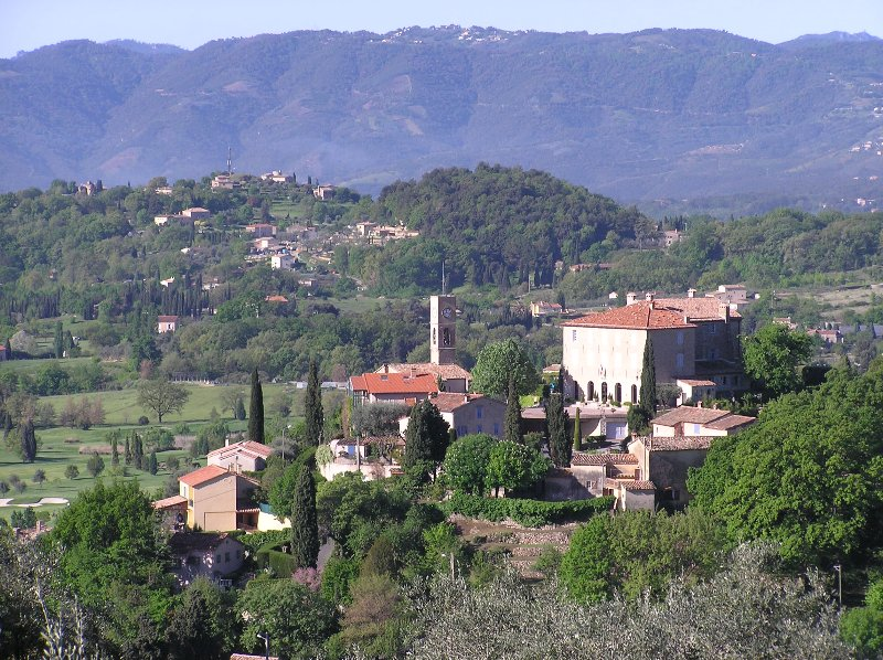 vila Opio eo Esterel montanhas - vista da casa