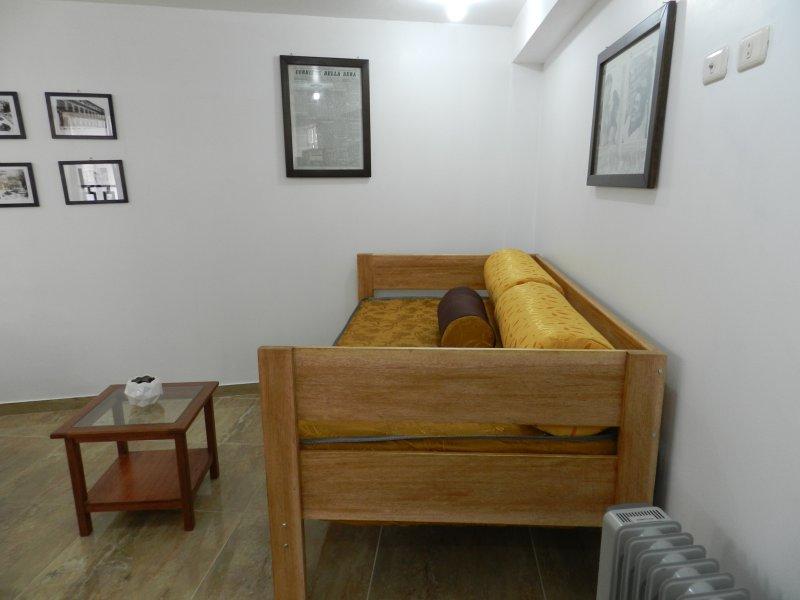 arge canapé-lit 1,5 taille