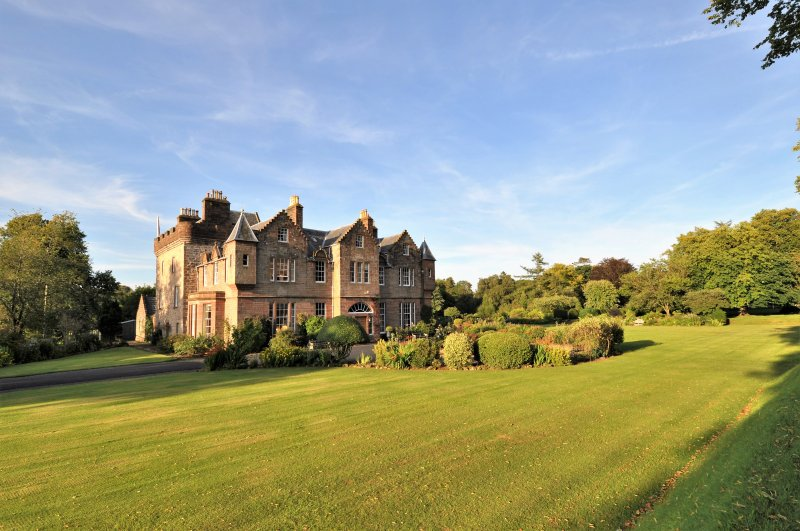 The Big House on a traditional sporting Estate of 2000 acres, close to Scotland's best golf courses