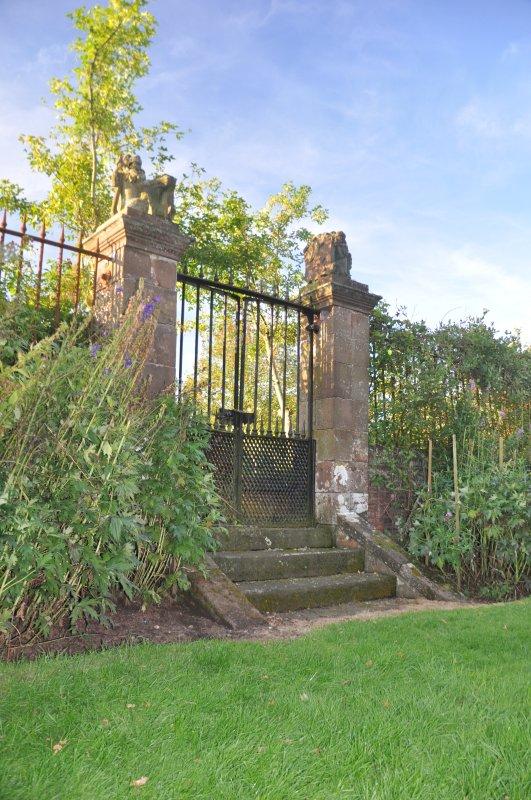 O jardim murado
