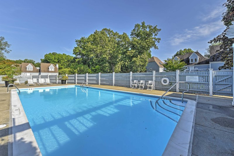 You'll have easy access to the community pool, located just across the street.