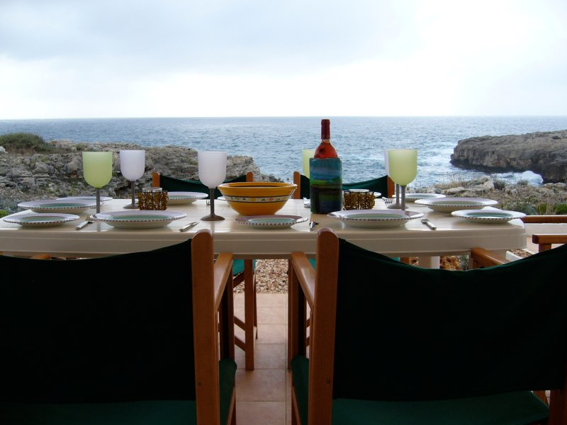 The view from Villa Feliz - 50m from the sea