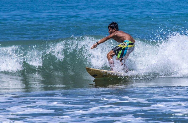 surf juste devant nos villas