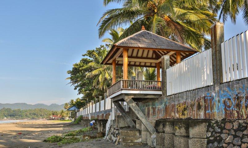 notre villa par la sécurité des biens de plage avec fance autour des villas