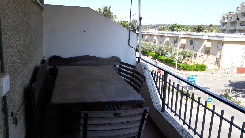 una delle 2 terrazze