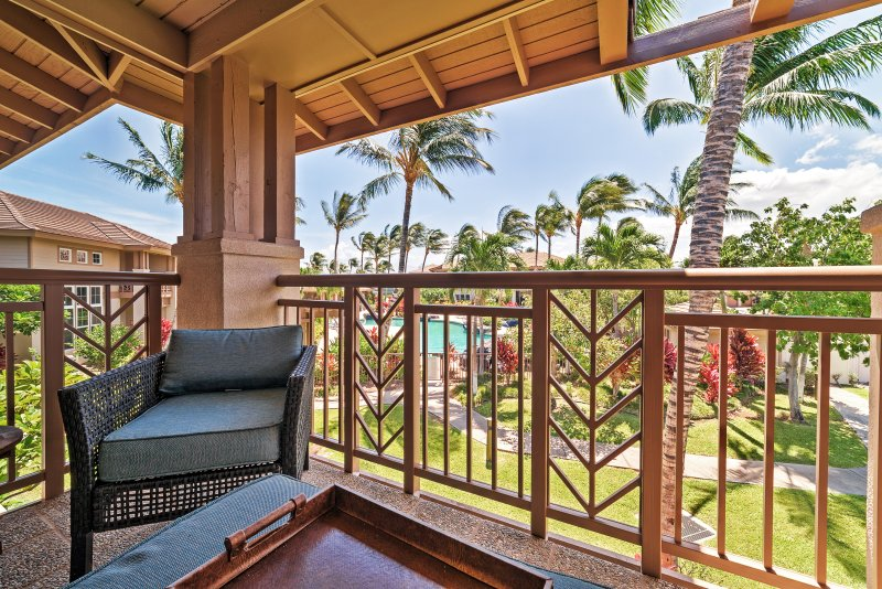 Enjoy amazing views right from your private balcony!