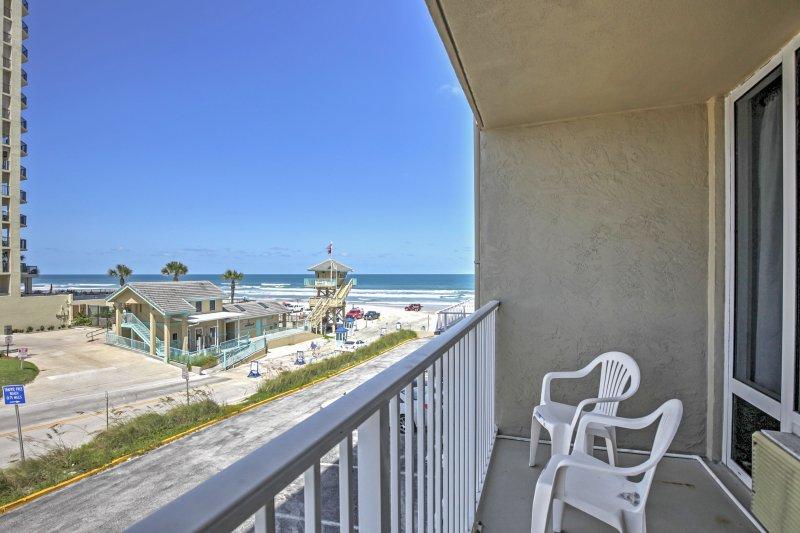 Freuen Sie sich auf faule Strandtage an diesem sensationellen Daytona Beach Ferienwohnung Studio!