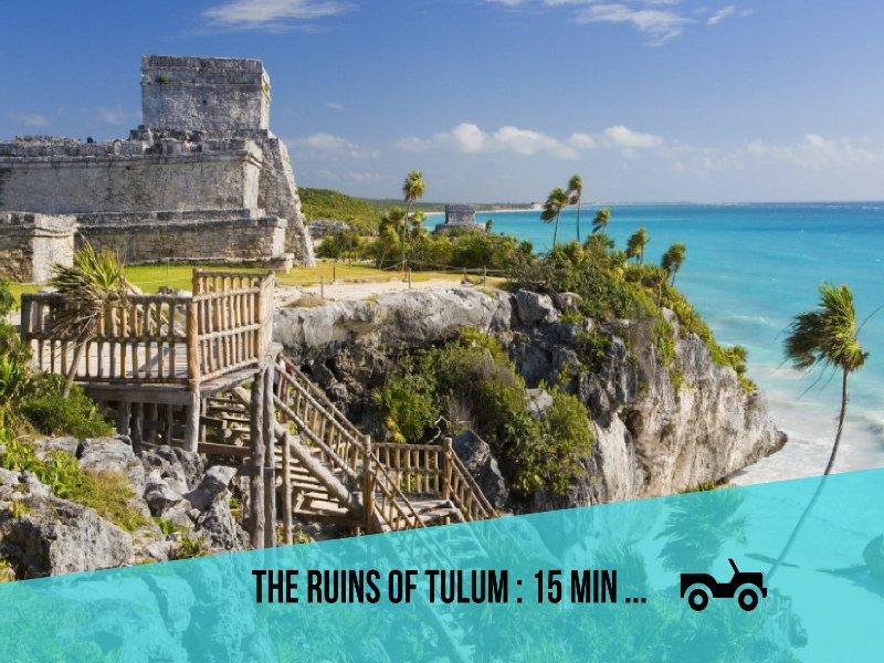 Riviera Maya Haciendas, Villa Alma Rosa - Las ruinas de Tulum: 15 min