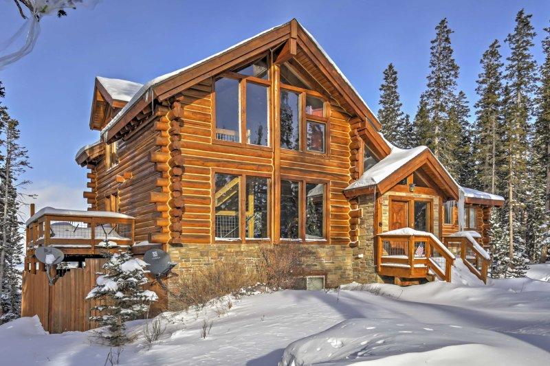 Évadez-vous vers les montagnes de Breckenridge et rester à cette location de vacances cabine!