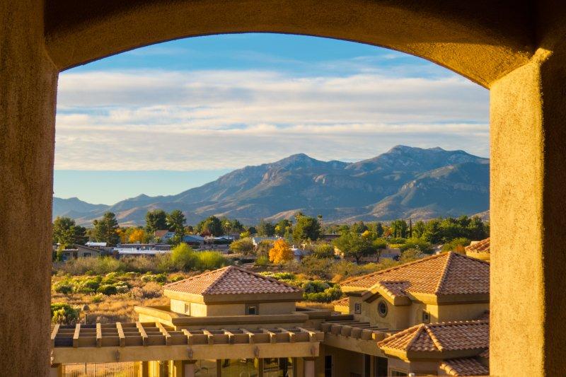 Une vue superbe depuis votre balcon privé