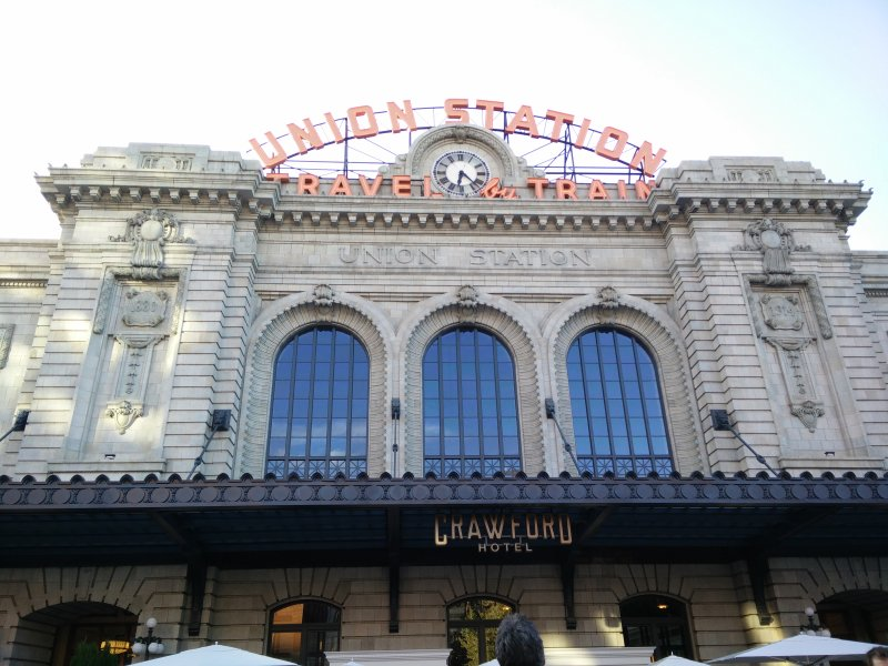 TAKE A TRAIN FROM THE UNION STATION A WALKING DISTANCE AWAY