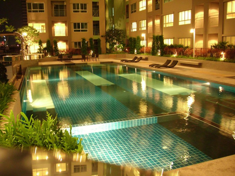 Apartment in Bangkok, nice view Has Secure Parking and ...