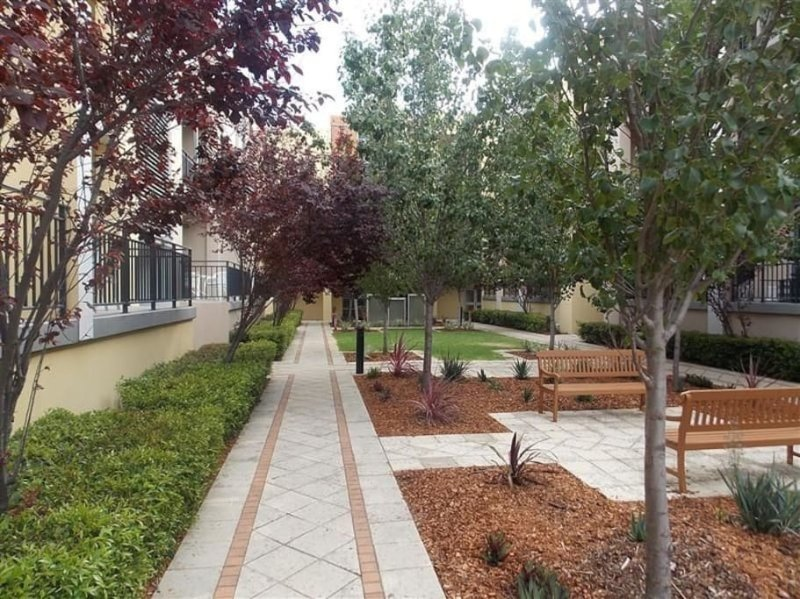 Common Area Courtyard
