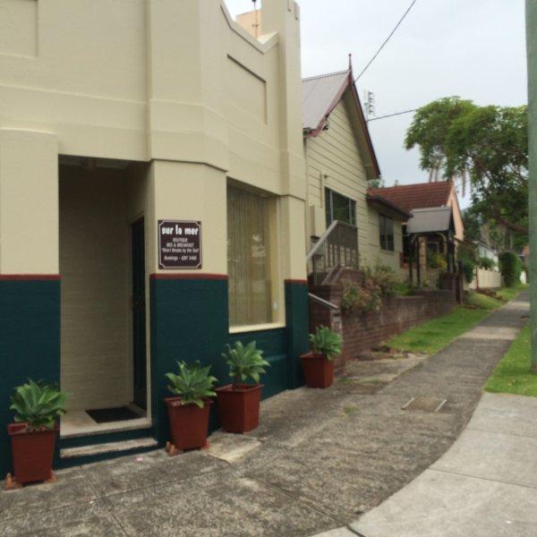 Heritage converted shopfront.