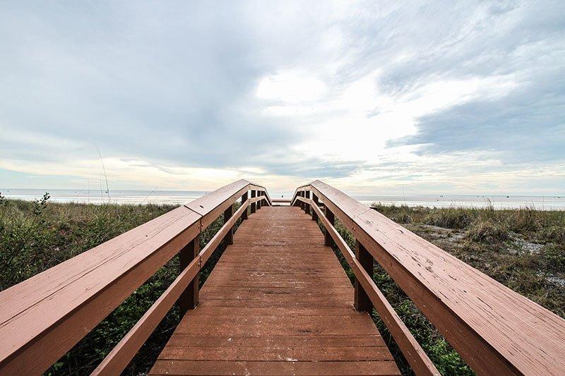 Broadwalk to Beach