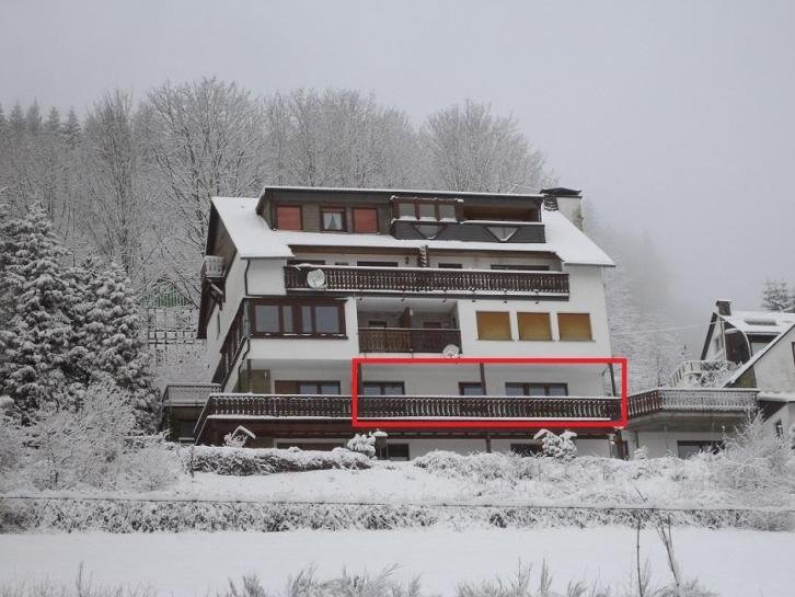 Zonnig en ruim Appartement 'Sonnenblick', holiday rental in Langewiese