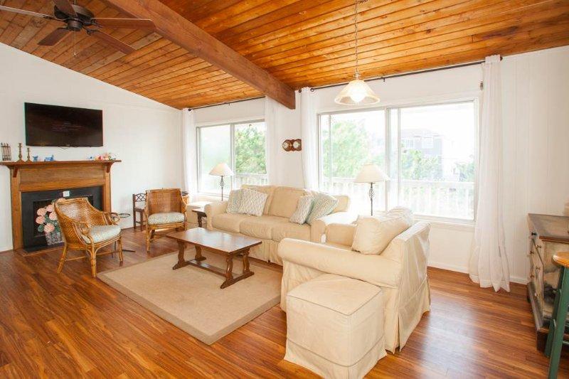Piso, pisos, muebles, madera dura, Interior