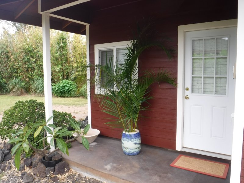 Private Garden Apartment On The Dry Side Of Waimea, location de vacances à Hawi