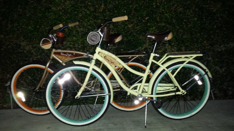 Wir bieten gemeinsame Fahrräder