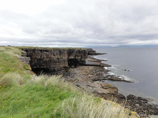 Muckross Head - a popular spot for rock climbers