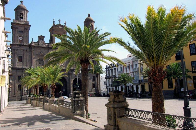 CATTEDRALE DI Las Palmas è proprio dietro l'angolo